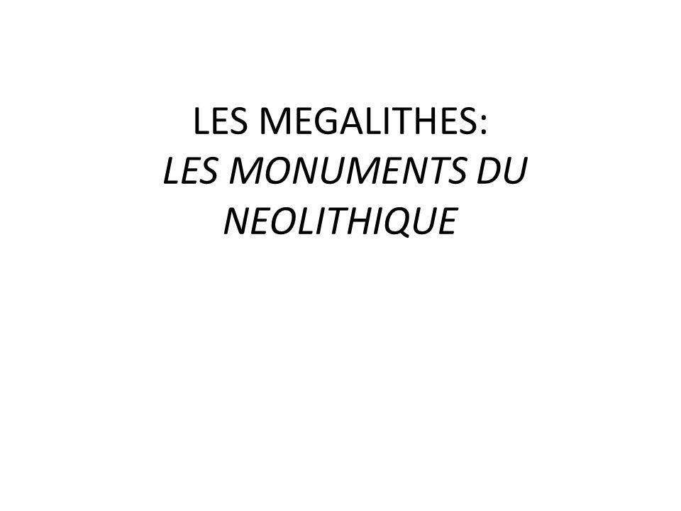 I-LE NEOLITHIQUE : Au cours de la période du néolithique (époque de la pierre polie), lhomme se regroupe en villages.