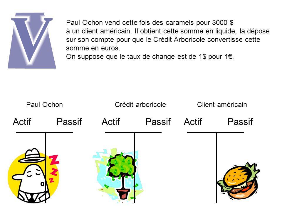 Paul Ochon vend des caramels pour 1000 à Jacques Ouzi.