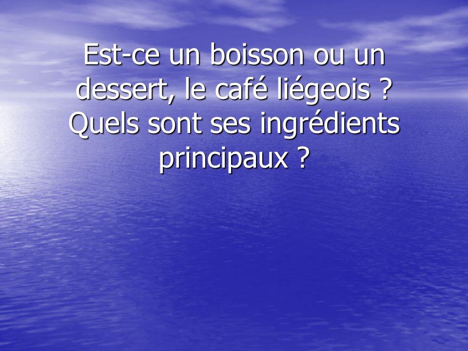 Typiquement, quel boisson est servi après le repas au Sénégal ou au Maroc ?