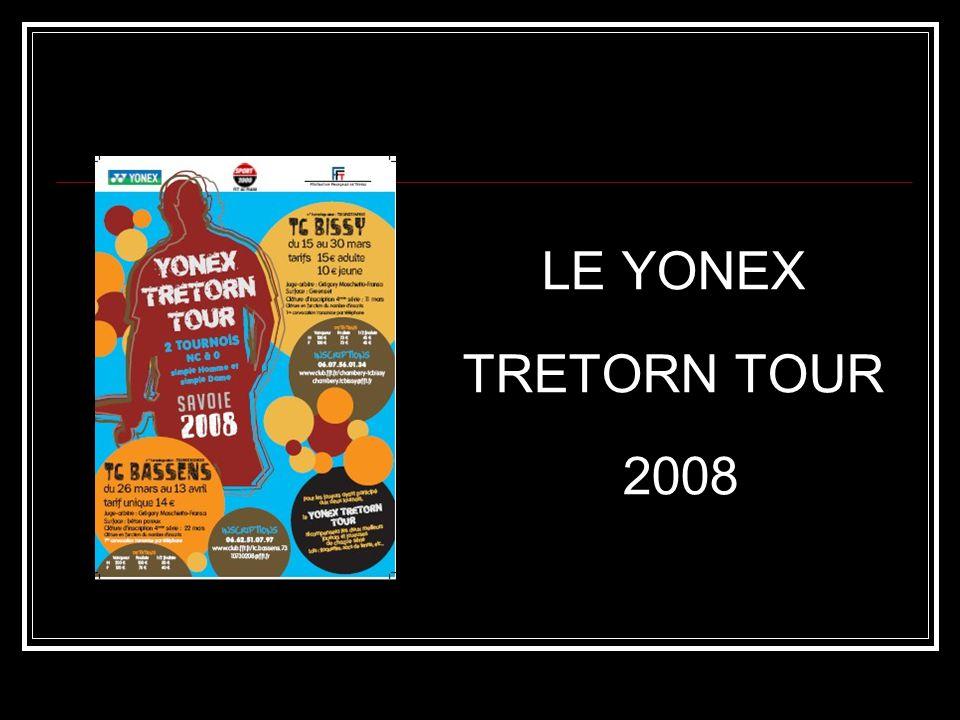 LE YONEX TRETORN TOUR 2008