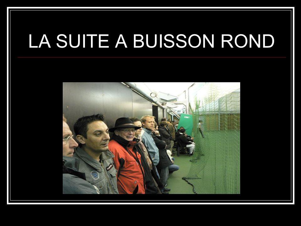 LA SUITE A BUISSON ROND