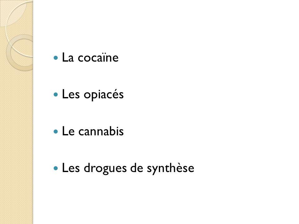 La cocaïne Quest-ce que cest.