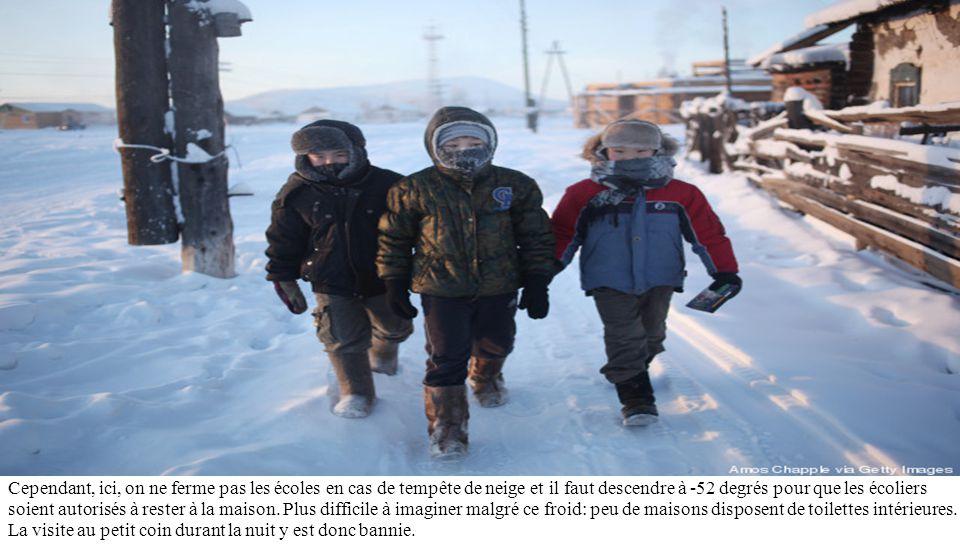 C'est la température la plus basse enregistrée pour tout lieu habité en permanence sur la Terre et la plus basse température enregistrée dans l'hémisp