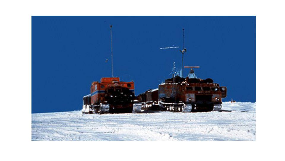 2. Base russe Vostok, Antarctique: -89.2° C Cette station de recherche scientifique, appartenant à la Russie, se trouve au Pôle Sud magnétique, à une