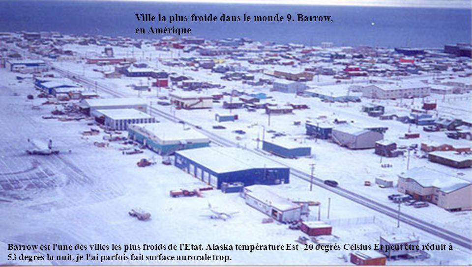 Station de Plateau, Antarctique Cet endroit est à la troisième place sur la liste, donc vous pouvez imaginer les conditions les plus froides de la ter