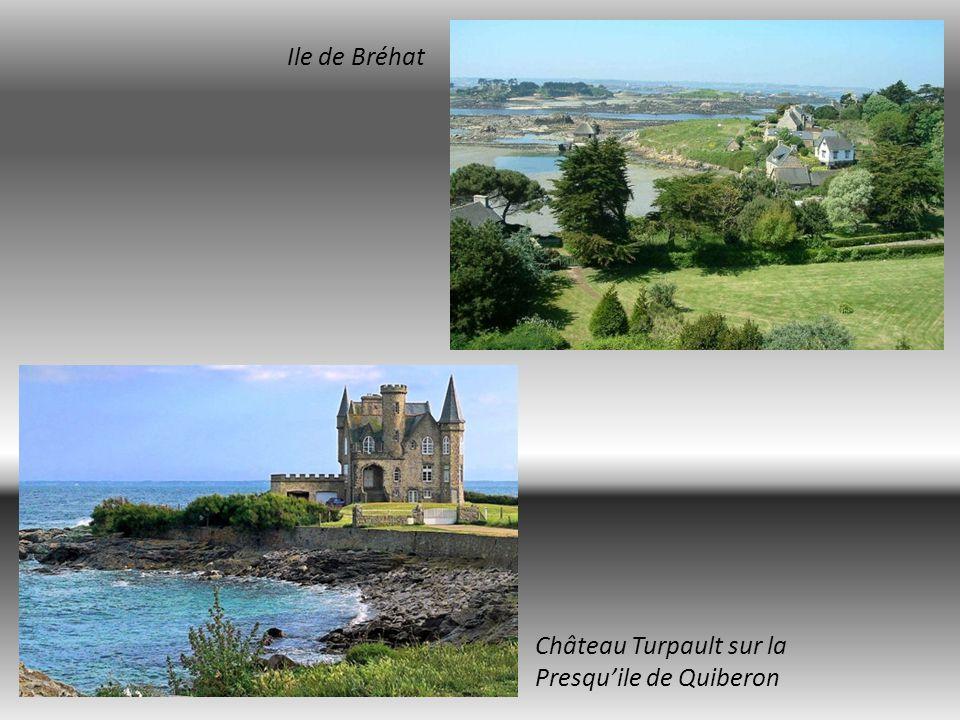 Locronan cité médiévale Ile Saint Nicolas Archipel des Glénan