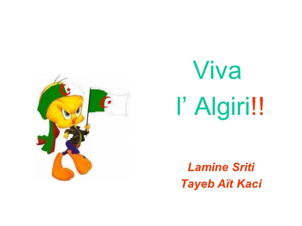 Viva l Algiri!! Lamine Sriti Tayeb Aït Kaci