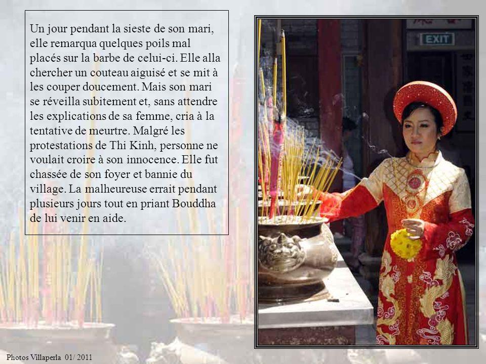 Elle observait scrupuleusement les préceptes de Bouddha et se montrait pleine de compassion pour tous les êtres vivants. Photos Villaperla 01/ 2011