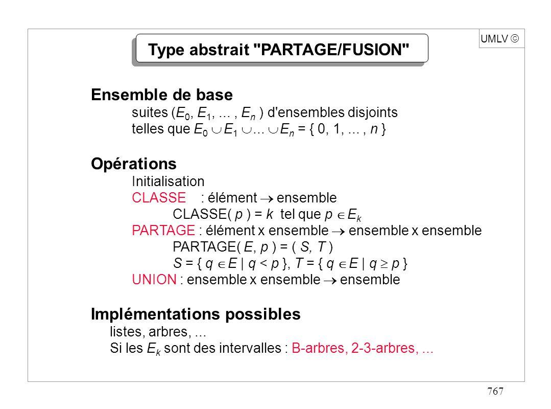 767 UMLV Type abstrait