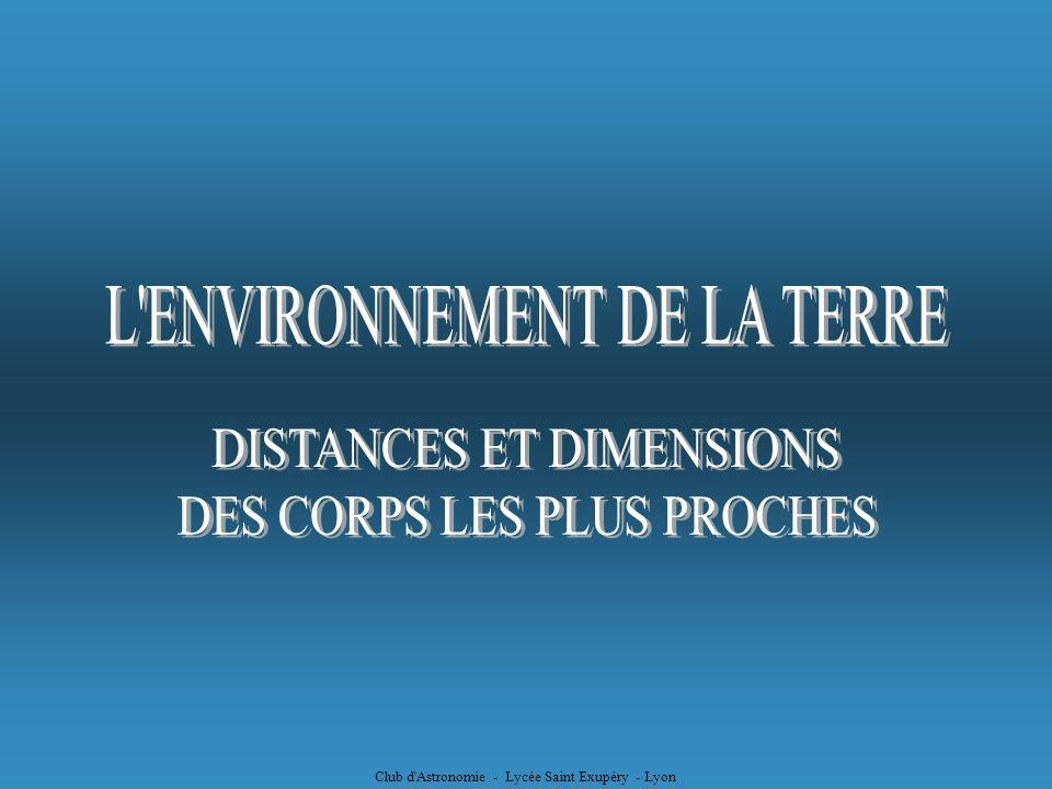Club d Astronomie - Lycée Saint Exupéry - Lyon La forme de lellipse dépend du rapport car il traduit lexcentricité du foyer F par rapport au centre 0 de lellipse excentricité de lellipse excentricité Ce rapport est appelé « excentricité »