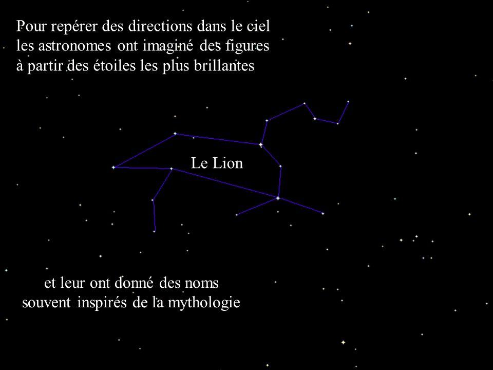 Club d'Astronomie - Lycée Saint Exupéry - Lyon Pour repérer des directions dans le ciel les astronomes ont imaginé des figures à partir des étoiles le