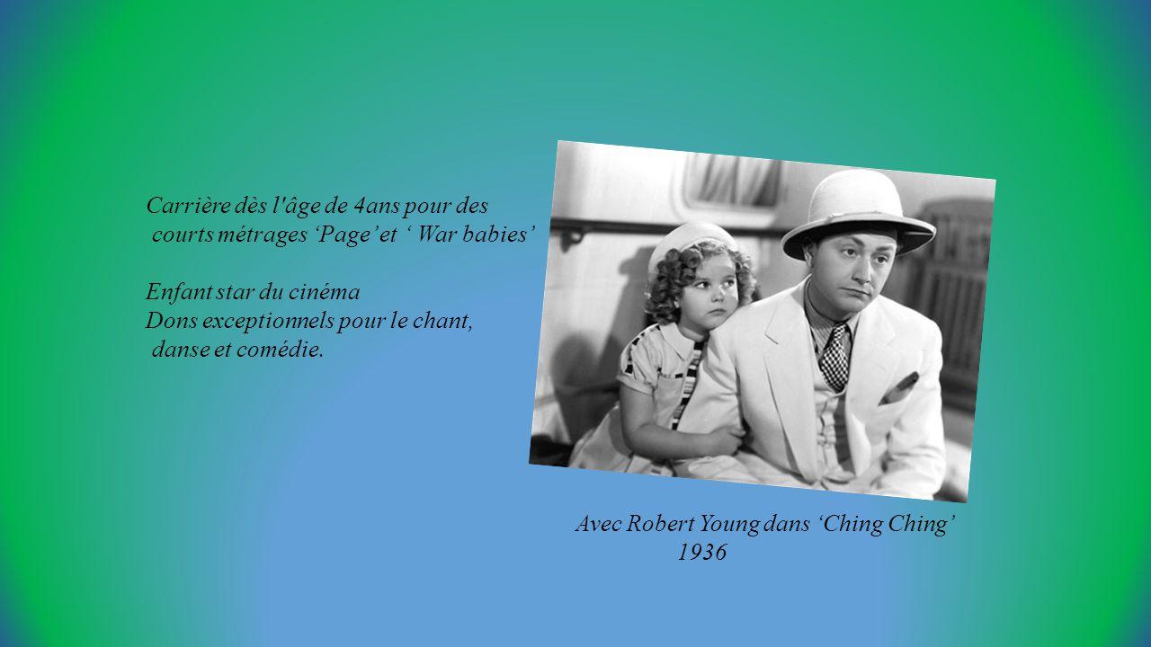 Carrière dès l âge de 4ans pour des courts métrages Page et War babies Enfant star du cinéma Dons exceptionnels pour le chant, danse et comédie.