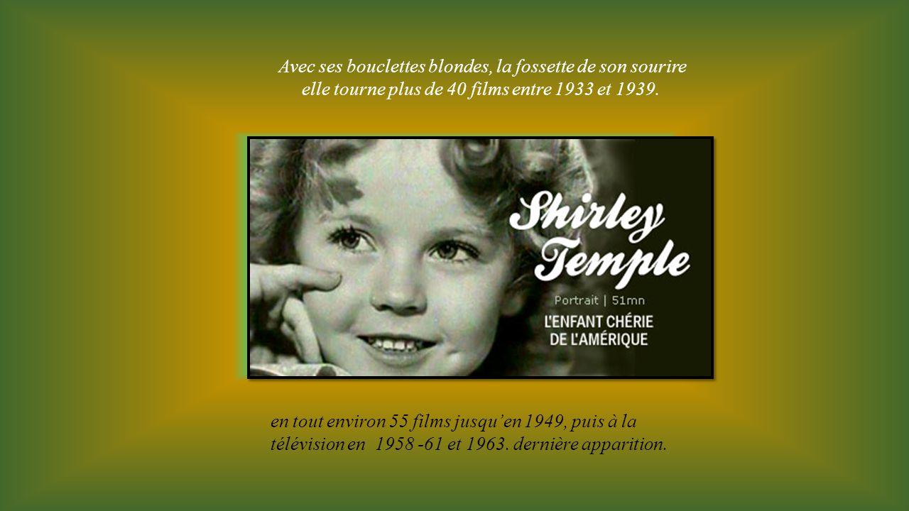 Avec ses bouclettes blondes, la fossette de son sourire elle tourne plus de 40 films entre 1933 et 1939.