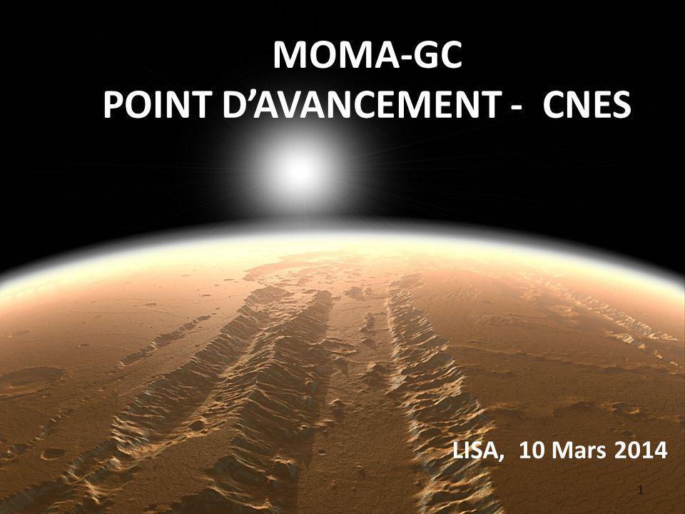 2 MOMA Martian Organic Molecules Analyser