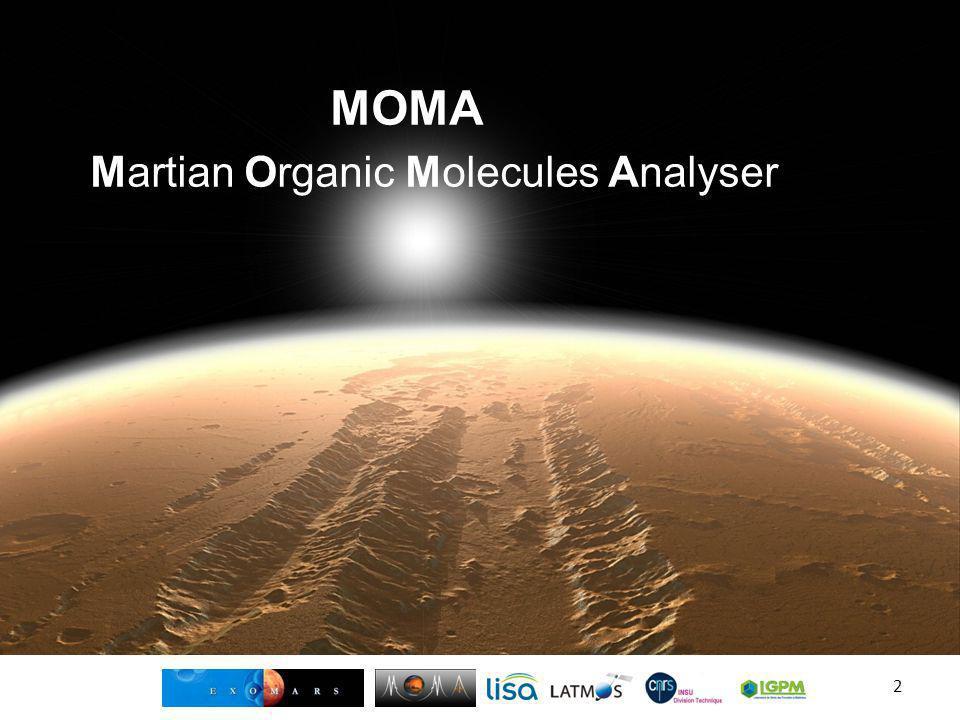 ExoMars vs MSL Missions très proches dans leurs objectifs mais MSL est NASA et ExoMars ESA (+ ROSCOSMOS) … – Rover Curiosity de classe 900Kg – Rover Européen de classe 300Kg – Principale restriction à la détection de composés organiques sur Mars via MSL : Analyse de la surface et de lAtmosphère (or très forte oxydation) – Cest pourquoi ExoMars a une foreuse pouvant creuser à deux mètres de profondeur – Sinon techno différentes : RHU vs Panneaux Solaires, etc.