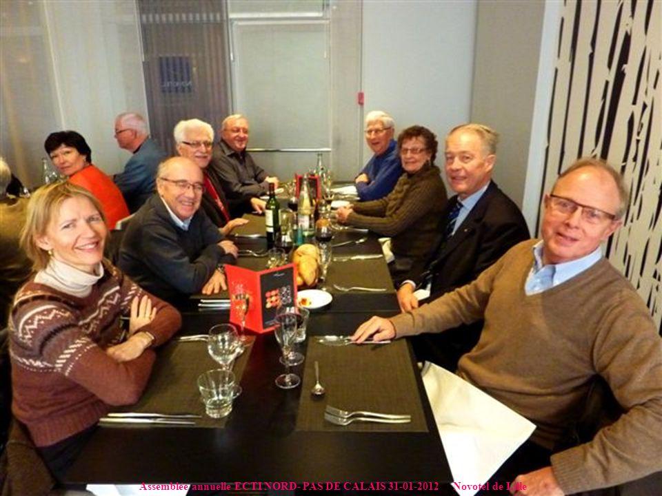 Assemblée annuelle ECTI NORD- PAS DE CALAIS 31-01-2012 Novotel de Lille