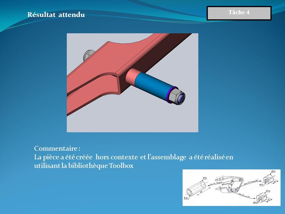On donne : Le croquis coté de la douille courte et de la douille taraudée appartenant au nouveau châssis (liaison avec le bras oscillant).