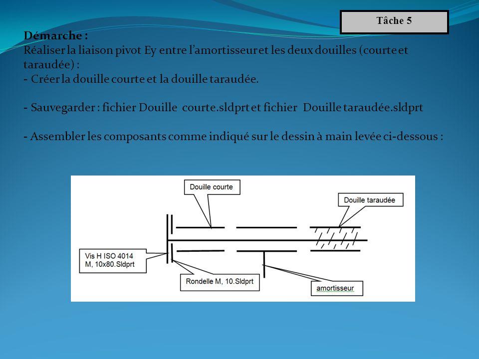 Résultat attendu Tâche 5 Commentaire : Les pièces ont été créées hors contexte et lassemblage a été réalisé en utilisant la bibliothèque Toolbox