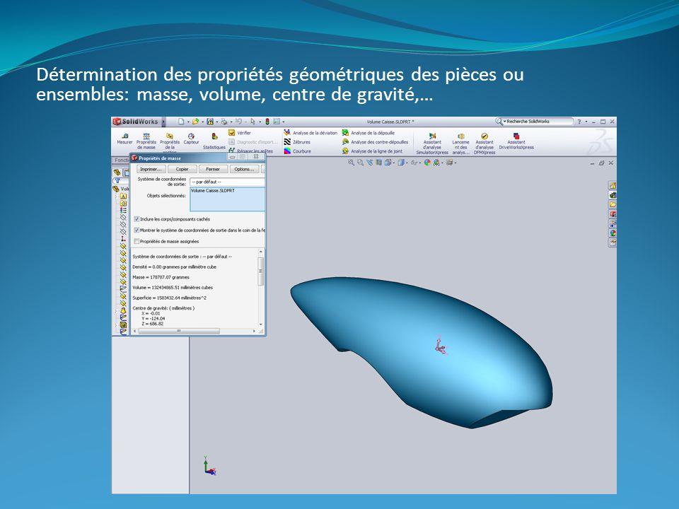 Vérification des caractéristiques mécaniques à laide dun logiciel de simulation.