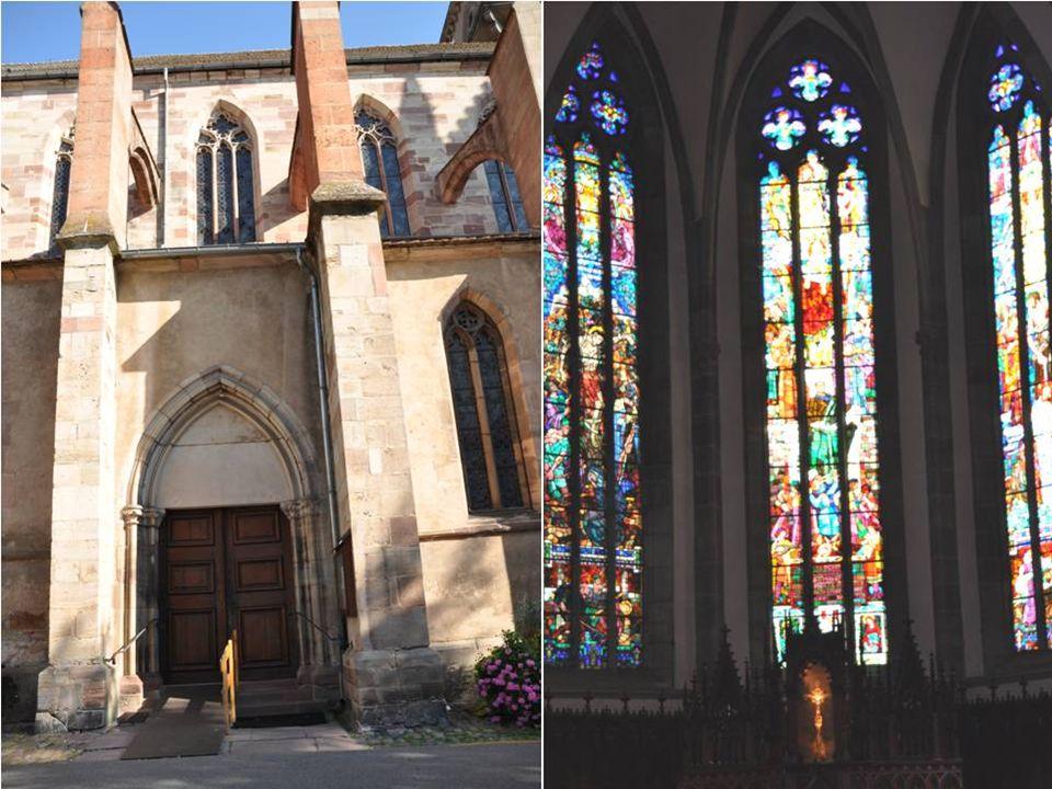 Eglise des sœurs de la Divine Providence Remonte en partie au 14 ième siècle Dans le couvent les sœurs de la providence se sont installées en 1819 Après son abandon par les Augustins à la révolution
