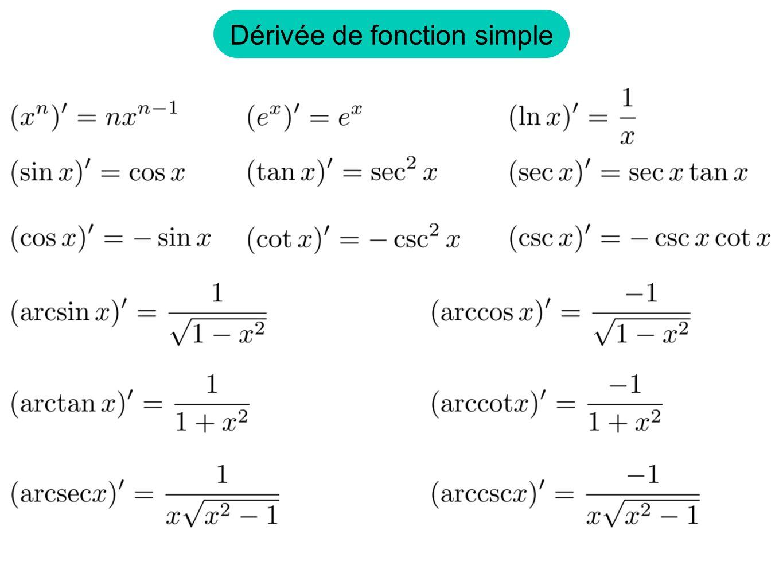Théorème: Preuve: Soient, deux fonctions continue sur telle que 1) 3) pour 2)sont continue en et Alors