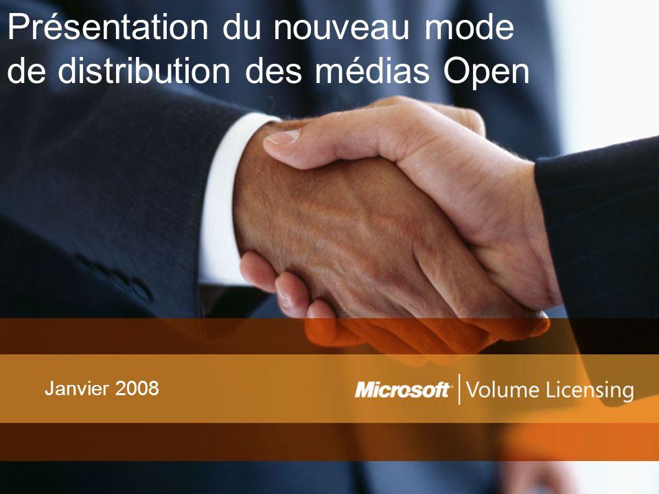 Présentation du nouveau mode de distribution des médias Open Janvier 2008