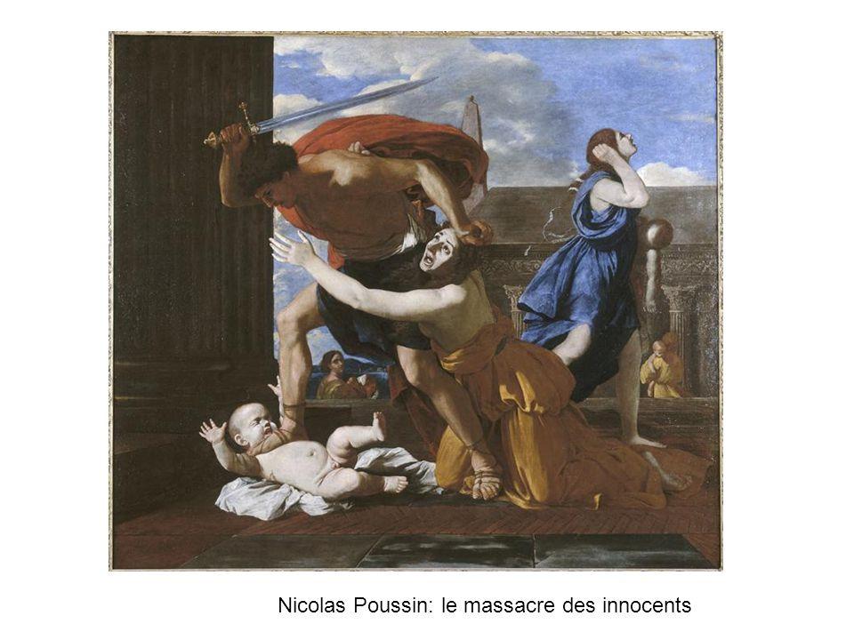 Nicolas Poussin: le massacre des innocents