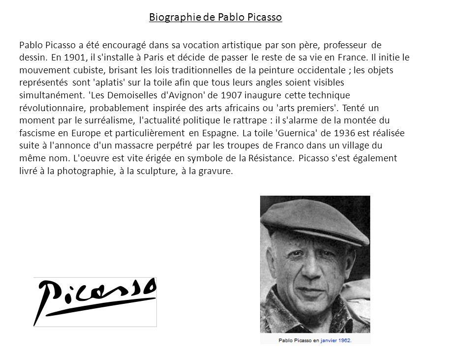 Cubisme Le cubisme est un mouvement artistique d avant- garde du 20e siècle, lancé par Pablo Picasso et Georges Braque, qui a révolutionné la peinture et la sculpture européenne, en plus d inspirer les mouvements liés à la musique et à la littérature.