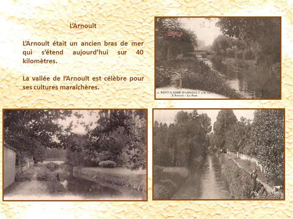 LArnoult LArnoult était un ancien bras de mer qui sétend aujourdhui sur 40 kilomètres.
