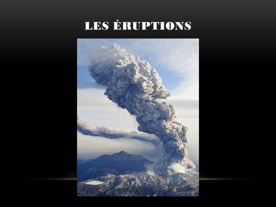 LES ÉRUPTIONS