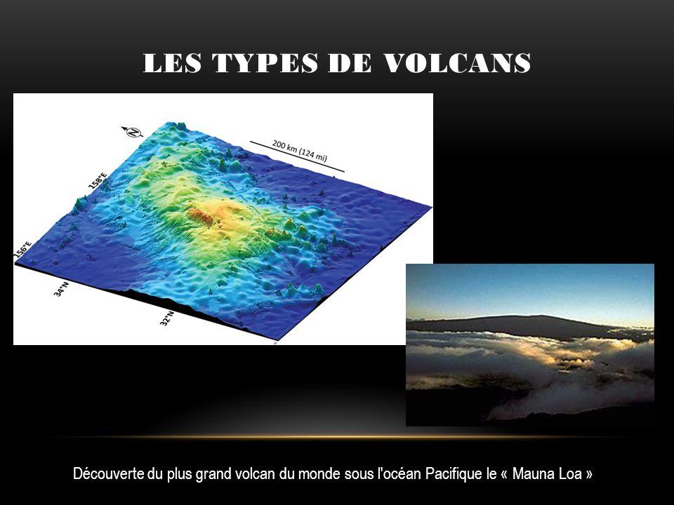 Découverte du plus grand volcan du monde sous l'océan Pacifique le « Mauna Loa »