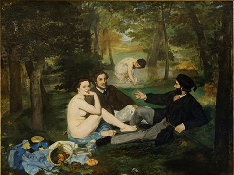 Edouard MANET ( 1832 – 1883 ) Père de l Art Moderne. Issu dune famille bourgeoise, il étudie la couture, Effectue de nombreux voyages, qui inspirent s