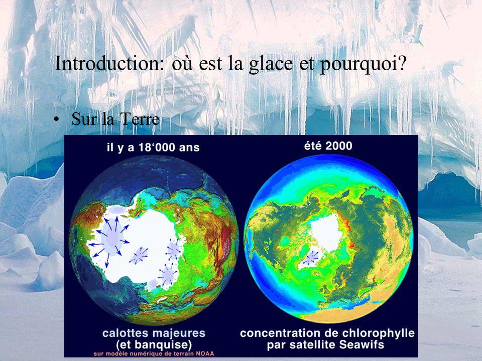 Sommaire Introduction, importance, où est la glace? Description dun glacier alpin Fonctionnement dun glacier (alpin) 1.Accumulation / Ablation (bilan
