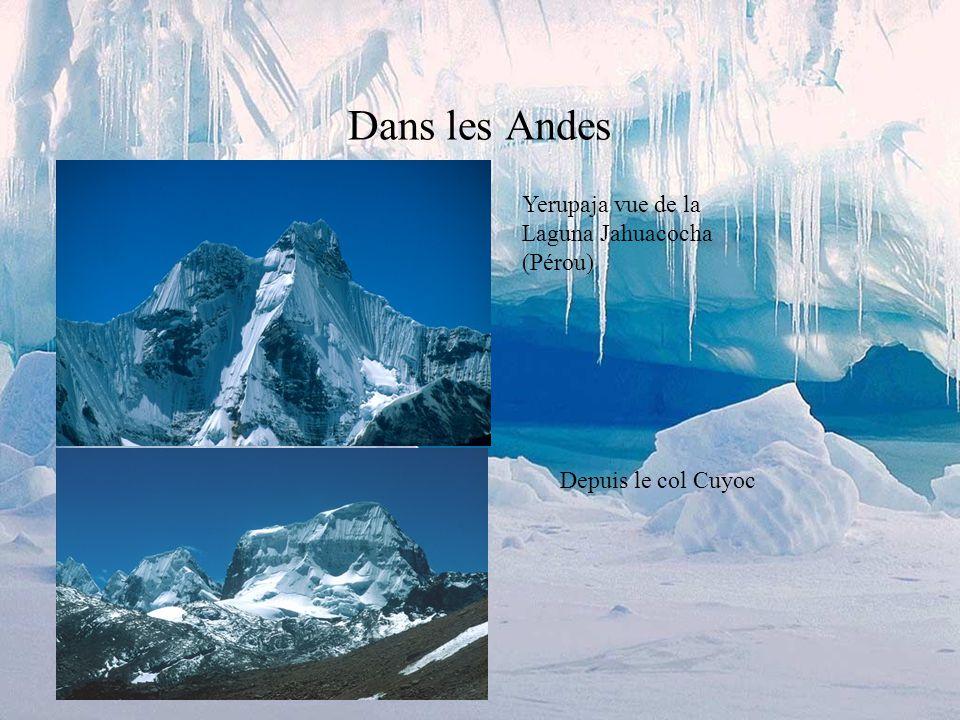 Dans les Alpes Le col se trouve juste au pied de la Grande Casse, le point culminant du parc national de la Vanoise (3855m.).