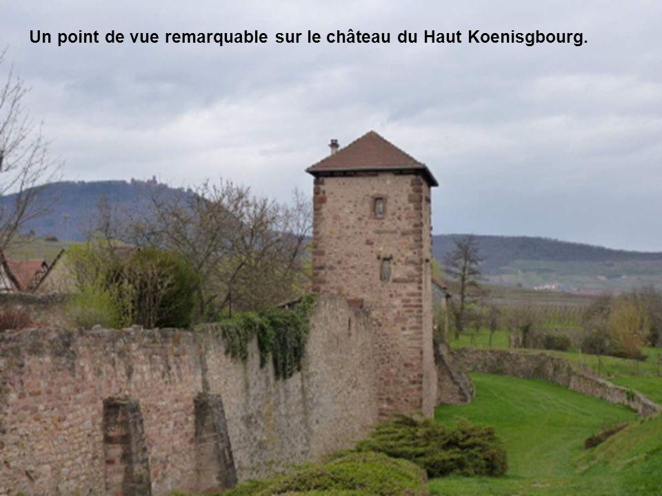 Mur denceinte miraculeusement épargnée par les deux guerres mondiales.