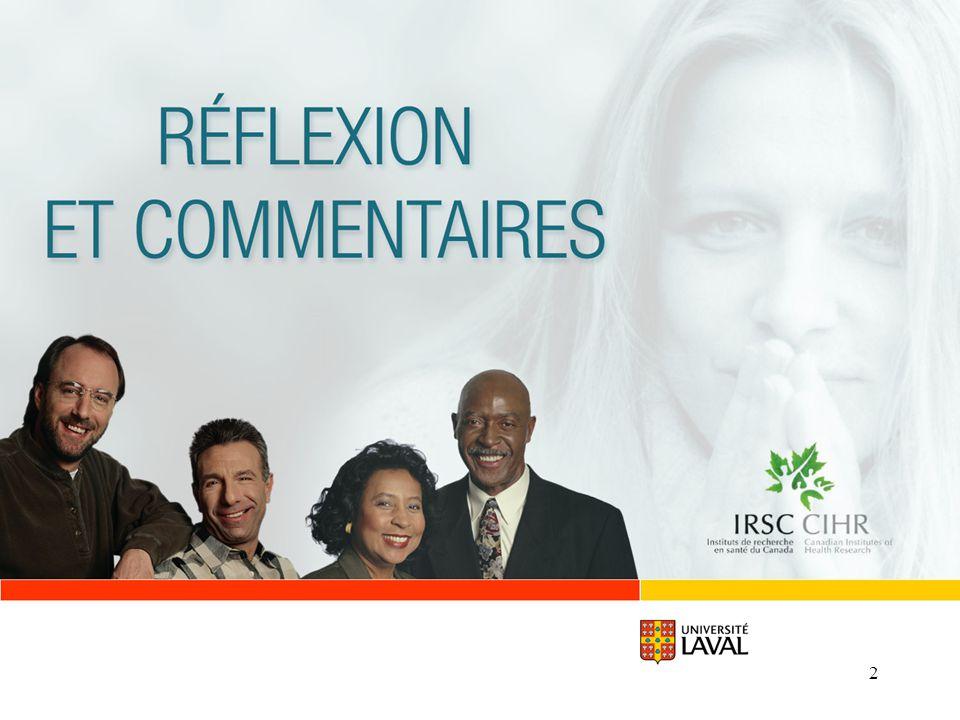 www.ulaval.ca 33 RECOMMENDATION GÉNÉRALE Le système dévaluation par les pairs, bien quimparfait, demeure le meilleur disponible et il doit être maintenu.