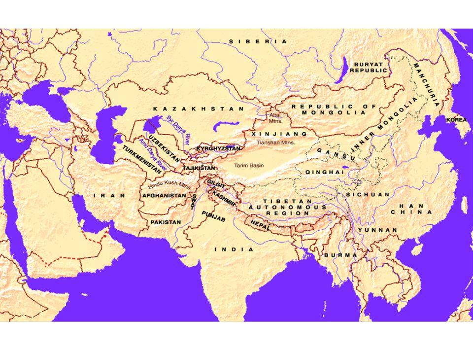 La chine dans la masse continentale asiatique Les rapports avec le Pakistan – La chine à privilégié ses relations avec le Pakistan Affichage dune politique pro islamique Expression de sa sympathie pour la cause palestinienne Soutien au Soudan… – Verrou qui isole lInde au Sud du continent – Choix qui complique la stratégie Nucléaire de la chine: Jeu à trois.
