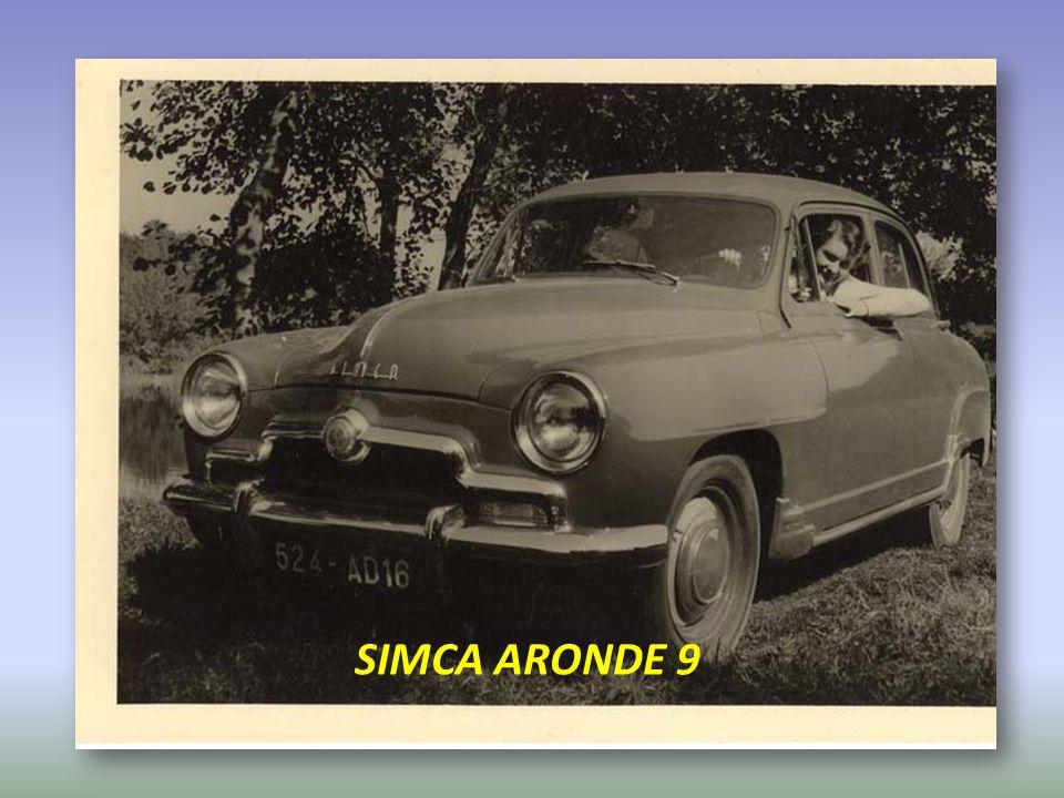 SIMCA ARONDE 9
