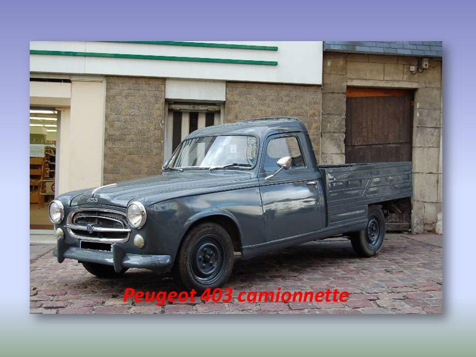 Peugeot 403 camionnette