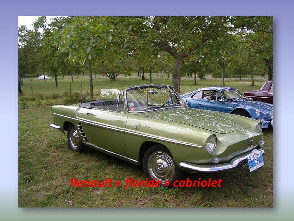 Renault « floride » cabriolet