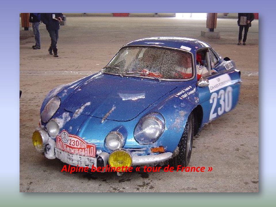Alpine berlinette « tour de France »