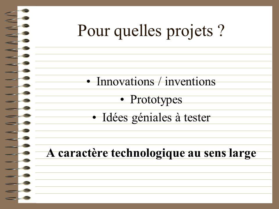 Pour qui ? Innovateurs [Futurs] Entrepreneurs Etudiants Retraités Mixité