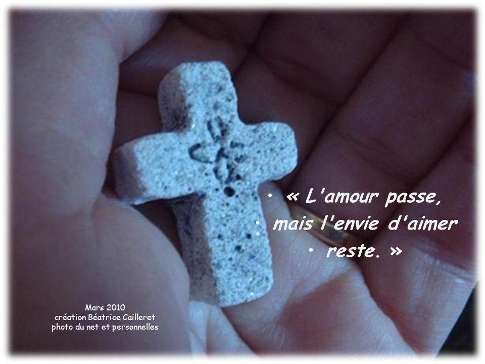 Seigneur, Donne-moi le courage de faire face à la croix.