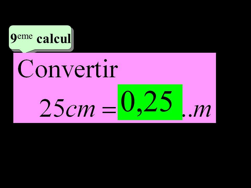 –1–1 5 eme calcul 5 eme calcul 9 eme calcul 0,25