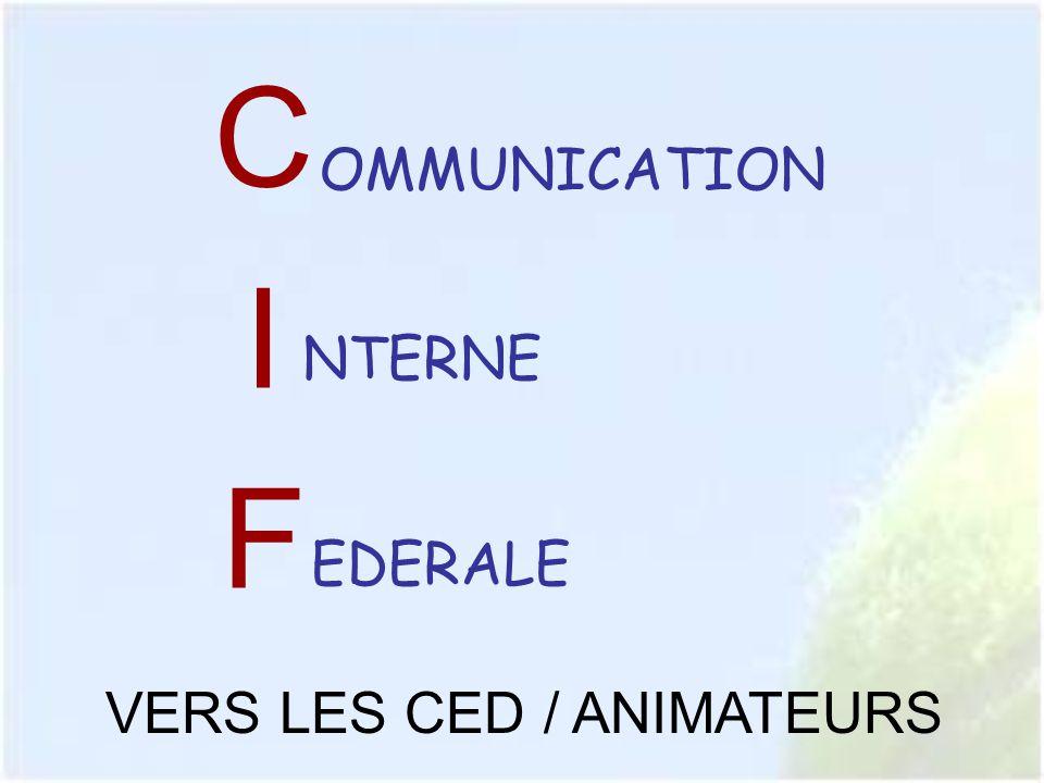 AUTRES ACTIONS RENFORCER LA COMMUNICATION EXTERNE FFT vers le GRAND PUBLIC sur les actions fédérales