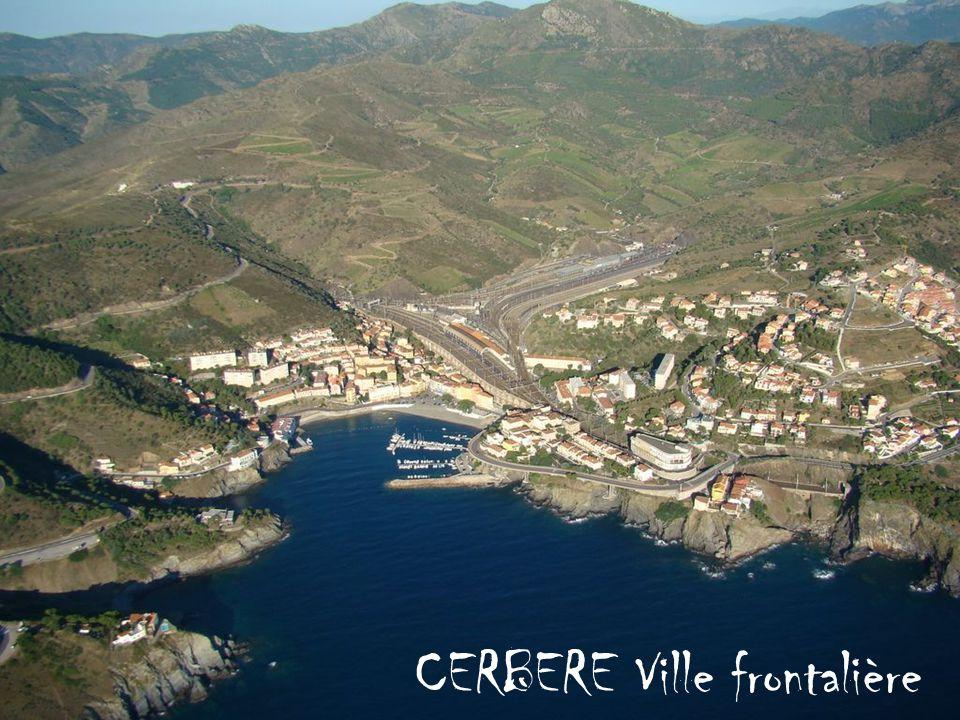 CERBERE Ville frontalière