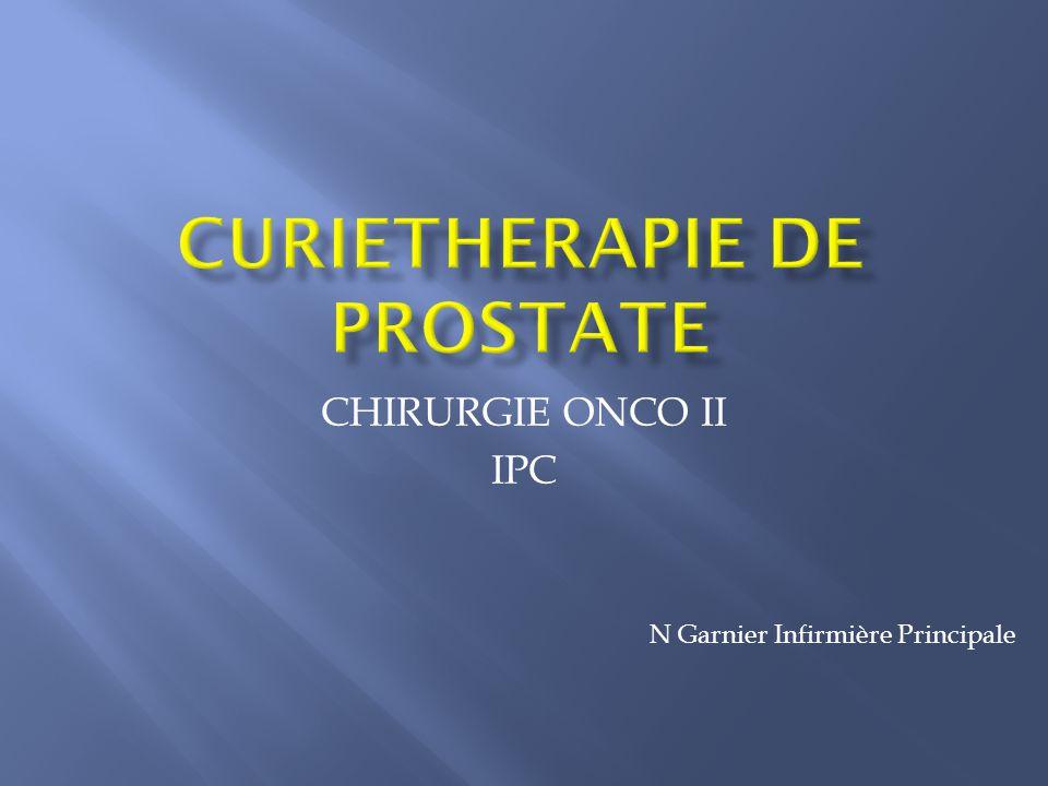 CHIRURGIE ONCO II IPC N Garnier Infirmière Principale