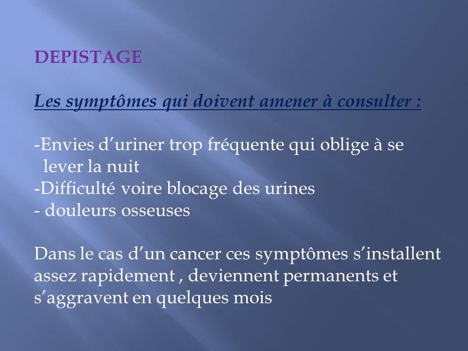 Les grain diode sont placés au sein de la prostate Mais ils peuvent de façon exceptionnel se déplacer : - Nécessité de filtration des urines pendant 15 jours (tamis).