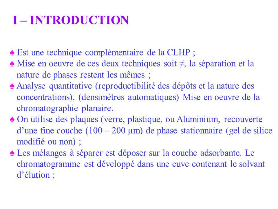 Est une technique complémentaire de la CLHP ; Mise en oeuvre de ces deux techniques soit, la séparation et la nature de phases restent les mêmes ; Ana