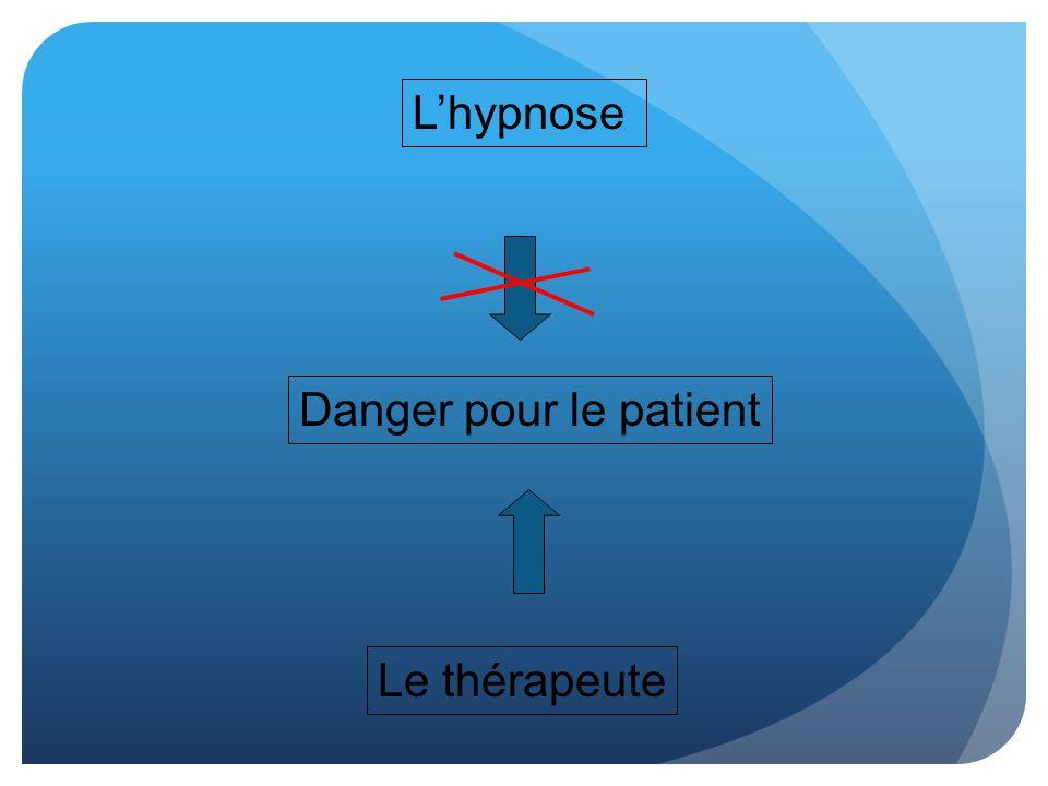 Lhypnose Danger pour le patient Le thérapeute